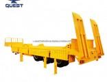 Tri-Axles 40FT Side Wall Trailer Gooseneck Low Bed Semi Trailer