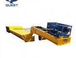 80-100tons Hydraulic Detachable Gooseneck Low Loader Truck Trailer Lowboy Trailer