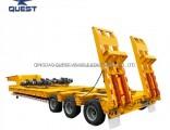 Heavy Duty 6 Axle Lowboy Semi Trailer 120 Tons
