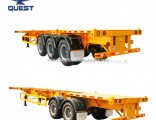 Low Price 20FT Chassis Frame Manufacturers 40FT Skeleton Semi Trailer