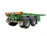 40ton 20feet Skeleton Trailer for Container Transportation Container Chassis