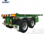 Quest Trailer Double Alxes 20FT Container Trailer Chassis for Sale