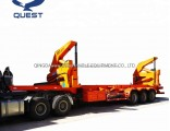 40FT Skeleton Side Loader Truck 3axle Sidelifting Container Semi Trailer