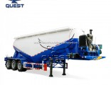 3 Axles 30cbm 40 Tons Powder Material Bulk Cement Tank Semi Trailer