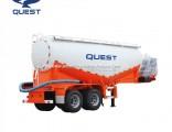 40t Double Axles 30m3 Volume Cement Powder Tank Semi Trailer
