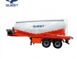 Used Air Compressor Dry Bulk Cement Powder Tanker Semi Trailer