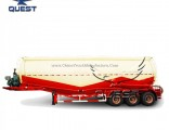 60cbm W Shape 70 Tons Heavy Bulk Cement Tank Semi Trailer