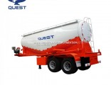 25cbm Low Density Powder Material Bulker Tanker Semi Truck Trailer