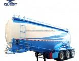 3axle 40cbm Bulk Cement Feed Tanker Bulker Tanker Semi Truck Trailer Prices