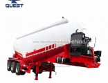 V Shape Tank Air Compressor Cement Bulk Tanker Trailer