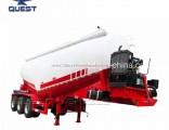 V Shape Tank Air Compressor Cement Bulk Tanker Trailer