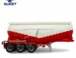 Quest Top Sale Powder Cement Mixer Bulk Bulker Semi Trailer