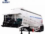 3axles 50cbm Fly Ash Powder Bulk Cement Tanker Semi Trailer