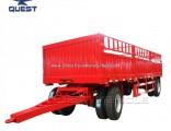 Quest 20FT Fence Livestock Cargo Animal Transport Drawbar Full Trailer