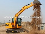 New Mini Hydraulic Excavator 8ton Crawler Excavator with Japanese Engine