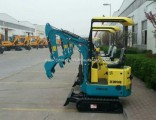 China Factory Price 0.8t Mini Excavator for Sale
