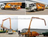 32m 37m 48m Boom Concrete Pump Truck with HOWO&Isuzu Brand Chassis