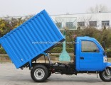 Diesel Dump Right Hand Drive Motorized 3-Wheel Tricycle for Sale