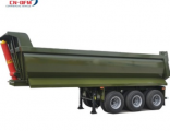 3 Axles Dump Semi Trailer Tipper Trailer on sale